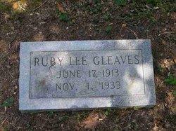 Ruby Lee Gleaves