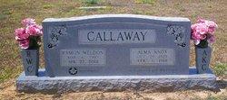 Alma LaVene <i>Knox</i> Callaway
