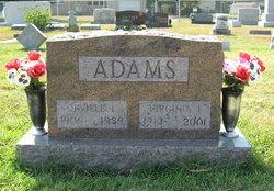 Virginia Irene <i>Lockart</i> Adams