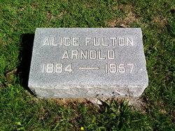 Alice <i>Fulton</i> Arnold