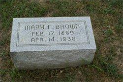 Mary E <i>Owens</i> Brown