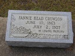 Fannie <i>Head</i> Crowson