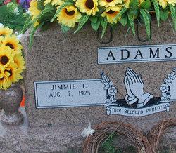 Jimmie Lee <i>Keller</i> Adams