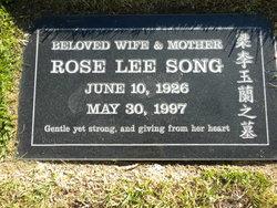 Rose Lee Song