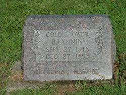 Goldie Marie <i>Owen</i> Johnson, Brannin