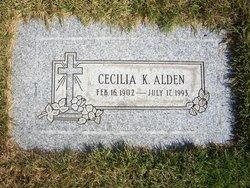 Cecilia K <i>Fosley</i> Alden