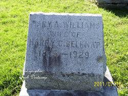 Mary A <i>Williams</i> Belknap