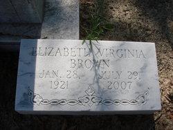 Elizabeth Virginia Brown
