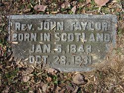 Rev John Taylor