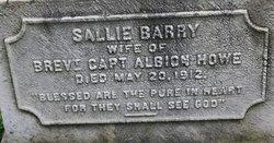 Sallie <i>Barry</i> Howe