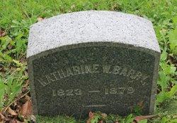 Katharine W. Barry
