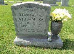 Thomas E Tim Allen, Sr