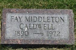Fay <i>Middleton</i> Caldwell