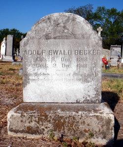 Adolf Ewald Becker