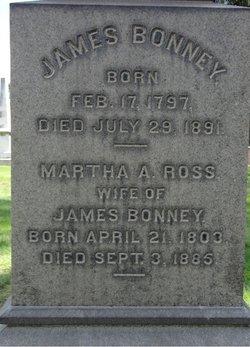 Martha Ann <i>Ross</i> Bonney