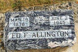 Edward Franklin Ed Allington