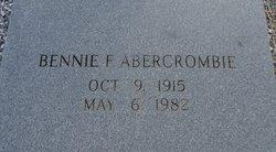 Bennie F. Abercrombie