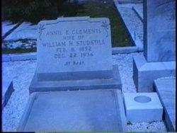 Annie Elizabeth <i>Clements</i> Studstill