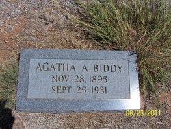 Agatha A. <i>McDaniel</i> Biddy