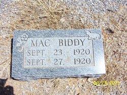 Mac Biddy