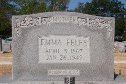 Emma Amalia <i>Schulz</i> Felfe