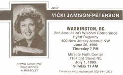 Rev Vicki <i>Smith</i> Jamison-Peterson