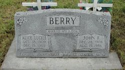 John Frederick Jack Berry