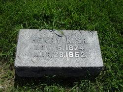 Henry Kennedy Hannah, Sr