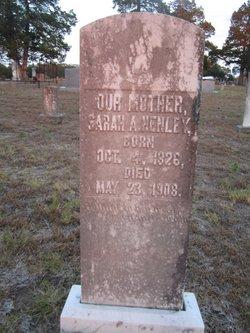 Sarah Ann <i>Smith</i> Henley