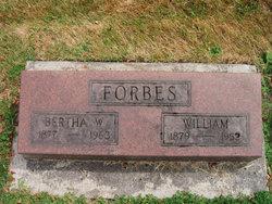 Bertha W Forbes
