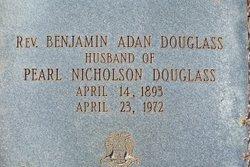 Rev Benjamin Adan Douglass