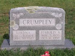 Letha Edna <i>Ackerman</i> Crumpley