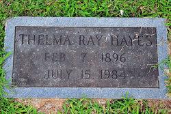 Thelma Marie <i>Ray</i> Hayes