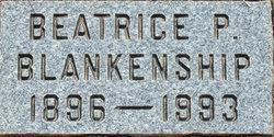 Beatrice P. <i>McLemore</i> Blankenship