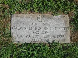 Calvin Meigs Bertolette
