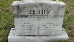 Myrtle Ann <i>Walker</i> Berry