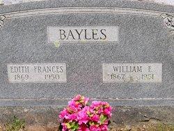 Edith Frances <i>Walker</i> Bayles