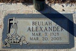 Beulah James Alexander