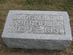 Margaret J <i>McGowan</i> Sproull
