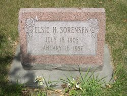 Elsie H <i>Ewald</i> Sorensen