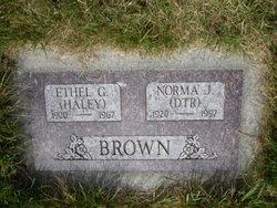 Ethel Goldie <i>Haley</i> Brown