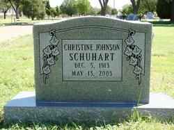 Christine <i>Johnson</i> Schuhart