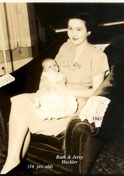 Ruth Evelyn Bledsoe <i>Heckler</i> Mitchell