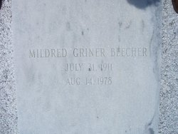 Mildred A <i>Griner</i> Beecher
