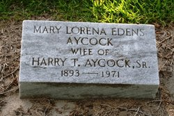 Mary Lorena <i>Edens</i> Aycock