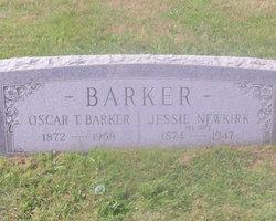 Jessie <i>Newkirk</i> Barker