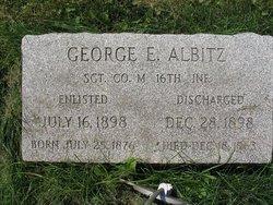 George E Albitz