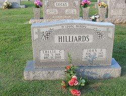 Lollie <i>Cubbage</i> Hilliards