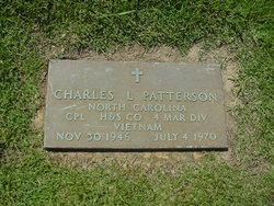 Corp Charles Linwood Patterson