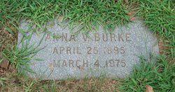 Anna V Burke